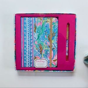 Lilly Pulitzer Journal With Pen